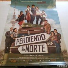 Cine: PERDIENDO EL NORTE - POSTER ORIGINAL . Lote 194862787
