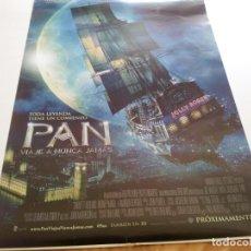Cine: PAN VIAJE A NUNCA JAMAS - POSTER ORIGINAL . Lote 194863493