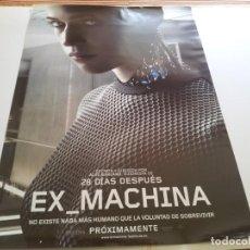 Cine: EX-MACHINA - POSTER ORIGINAL . Lote 194864485