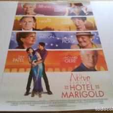 Cine: EL NUEVO EXOTICO HOTEL MARIGOLD - POSTER ORIGINAL . Lote 194865775