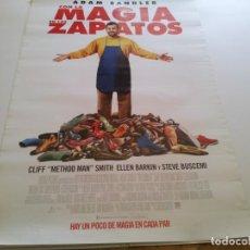 Cine: CON LA MAGIA EN LOS ZAPATOS - POSTER ORIGINAL . Lote 194865948