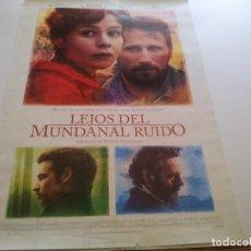 Cine: LEJOS DEL MUNDANAL RUIDO - POSTER ORIGINAL. Lote 194867997
