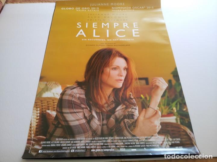 SIEMPRE ALICE - POSTER ORIGINAL (Cine- Posters y Carteles - Drama)