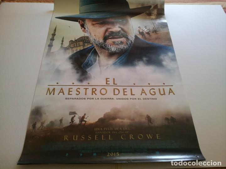 EL MAESTRO DEL AGUA - POSTER ORIGINAL (Cine- Posters y Carteles - Drama)