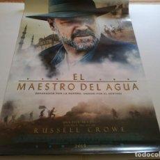 Cine: EL MAESTRO DEL AGUA - POSTER ORIGINAL . Lote 194870407