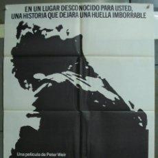Cine: CDO 309 GALLIPOLLI MEL GIBSON PETER WEIR POSTER ORIGINAL 70X100 ESTRENO. Lote 194882063