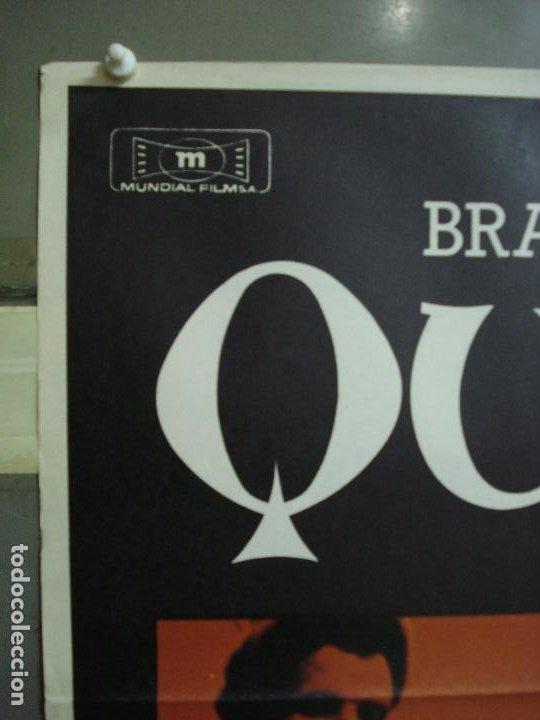 Cine: CDO 310 QUERELLE FASSBINDER BRAD DAVIS GAY CULT POSTER ORIGINAL 70X100 ESTRENO - Foto 2 - 194882711