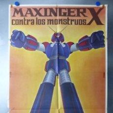 Cine: MAXINGER X CONTRA LOS MONSTRUOS - AÑO 1978. Lote 194948335
