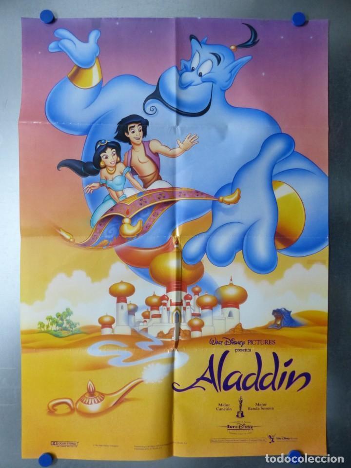 ALADDIN, WALT DISNEY (Cine - Posters y Carteles - Infantil)