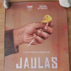 Cine: JAULAS - APROX 70X100 CARTEL ORIGINAL CINE (L73). Lote 194976548