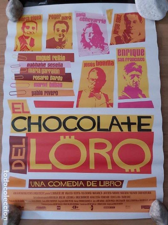 EL CHOCOLATE DEL LORO - APROX 70X100 CARTEL ORIGINAL CINE (L73) (Cine - Posters y Carteles - Clasico Español)