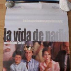 Cine: LA VIDA DE NADIE - APROX 70X100 CARTEL ORIGINAL CINE (L73). Lote 194981737