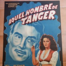 Cine: AQUEL HOMBRE DE TÁNGER. Lote 194995761
