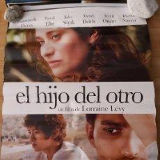 Cine: EL HIJO DEL OTRO - APROX 70X100 CARTEL ORIGINAL CINE (L73). Lote 195045898