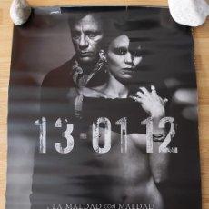 Cine: MILLENNIUM, LOS HOMBRES QUE NO AMABAN A LAS MUJERES - APROX 70X100 CARTEL ORIGINAL CINE (L73). Lote 195047182