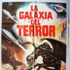 Cine: LA GALAXIA DEL TERROR, CON BRUCE CLARK. POSTER 70 X 100 CMS, 1981.. Lote 195047882