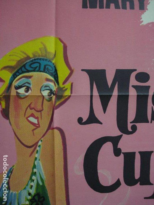 Cine: CDO 321 MISS CUPLE MARY SANTPERE JANO POSTER ORIGINAL 70X100 ESPAÑOL R-73 - Foto 3 - 195077022