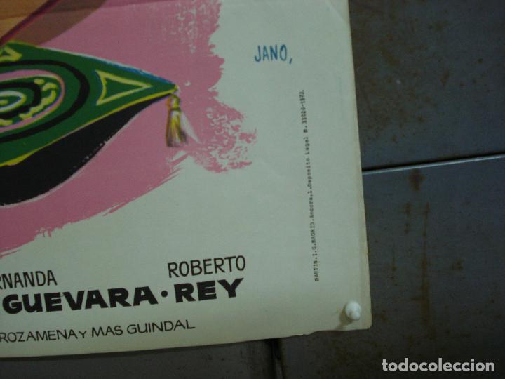 Cine: CDO 321 MISS CUPLE MARY SANTPERE JANO POSTER ORIGINAL 70X100 ESPAÑOL R-73 - Foto 5 - 195077022