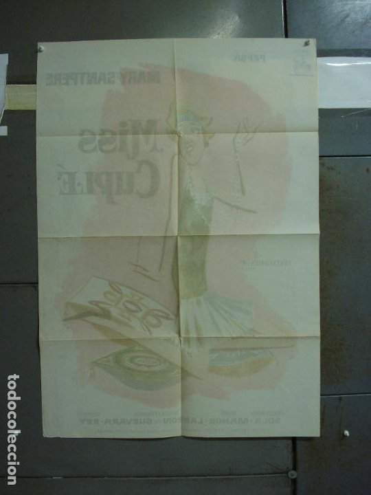 Cine: CDO 321 MISS CUPLE MARY SANTPERE JANO POSTER ORIGINAL 70X100 ESPAÑOL R-73 - Foto 6 - 195077022
