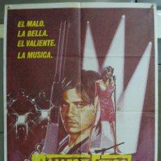 Cine: CDO 322 CALLES DE FUEGO DIANE LANE MICHAEL PARE WALTER HILL POSTER ORIGINAL 70X100 ESTRENO. Lote 195077291