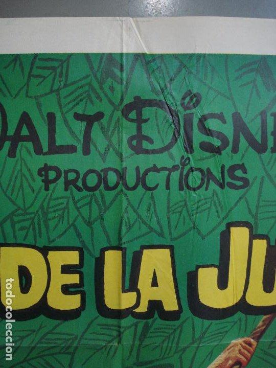 Cine: CDO 324 EL HIJO DE LA JUNGLA JAN-MICHAEL VINCENT WALT DISNEY POSTER ORIGINAL 70X100 ESTRENO - Foto 2 - 195079702