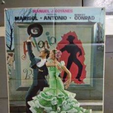 Cine: CDO 005 LA NUEVA CENICIENTA MARISOL ANTONIO POSTER ORIGINAL 70X100 ESTRENO. Lote 195083620