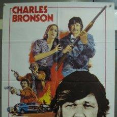 Cine: CDO 334 MR MAJESTYK CHARLES BRONSON POSTER ORIGINAL 70X100 ESTRENO. Lote 195083995