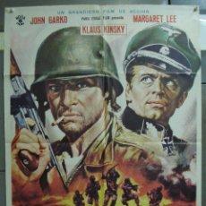 Cinema: CDO 342 CINCO PARA EL INFIERNO KLAUS KINSKI JOHN GARKO MARGARET LEE POSTER ORIGINAL 70X100 ESTRENO. Lote 195089525
