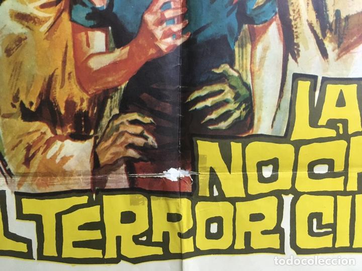 Cine: NW11 LA NOCHE DEL TERROR CIEGO AMANDO DE OSSORIO TEMPLARIOS POSTER ORIGINAL 70X100 ESTRENO - Foto 4 - 25886179