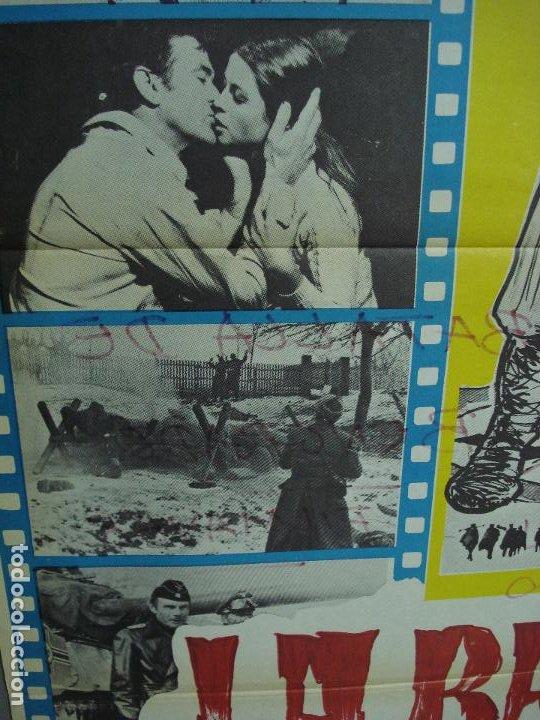 Cine: CDO 348 LA BATALLA DE BELGRADO ROD TAYLOR ADAM WEST POSTER ORIGINAL 70X100 ESTRENO - Foto 2 - 195092783