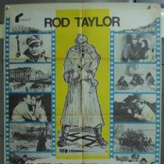 Cine: CDO 348 LA BATALLA DE BELGRADO ROD TAYLOR ADAM WEST POSTER ORIGINAL 70X100 ESTRENO. Lote 195092783