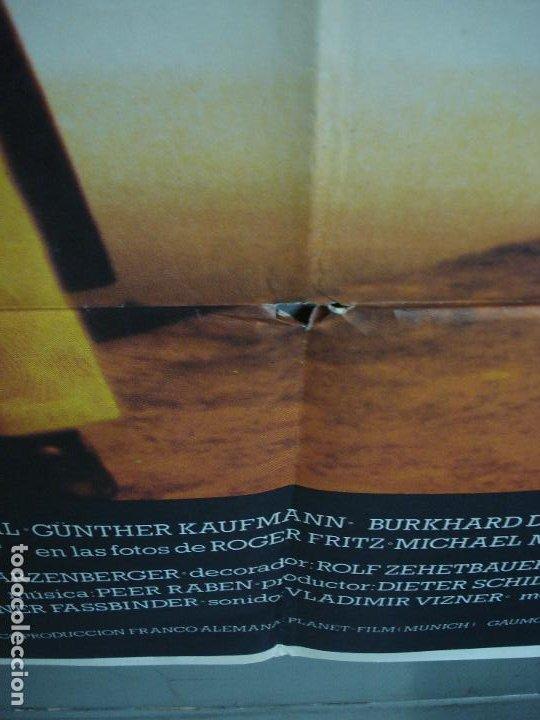 Cine: CDO 310 QUERELLE FASSBINDER BRAD DAVIS GAY CULT POSTER ORIGINAL 70X100 ESTRENO - Foto 7 - 194882711