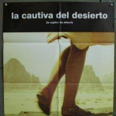 Cine: CDO 354 LA CAUTIVA DEL DESIERTO RAYMOND DEPARDON SANDRINE BONNAIRE POSTER ORIGINAL 70X100 ESTRENO. Lote 195109506