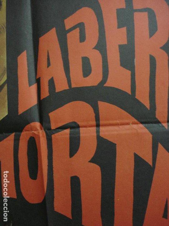 Cine: CDO 365 LABERINTO MORTAL DONALD SUTHERLAND CLAUDE CHABROL POSTER ORIGINAL 70X100 ESTRENO - Foto 3 - 195118498