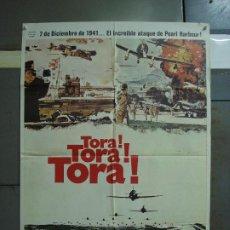 Cine: CDO 366 TORA TORA TORA SEGUNDA GUERRA MUNDIAL POSTER ORIGINAL 70X100 ESPAÑOL R-80. Lote 195119036