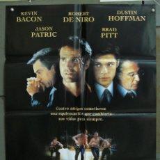 Cine: CDO 373 SLEEPERS BRAD PITT KEVIN BACON ROBERT DE NIRO POSTER ORIGINAL 70X100 ESTRENO. Lote 195125378