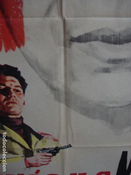 Cine: CDO 374 EL MONOCULO NEGRO PAUL MEURISSE JANO POSTER ORIGINAL 70X100 ESTRENO - Foto 5 - 195126217