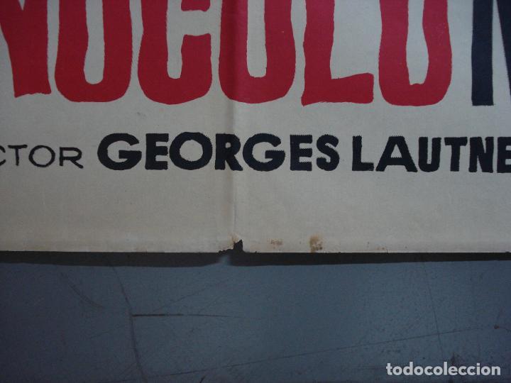 Cine: CDO 374 EL MONOCULO NEGRO PAUL MEURISSE JANO POSTER ORIGINAL 70X100 ESTRENO - Foto 8 - 195126217
