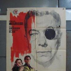 Cine: CDO 374 EL MONOCULO NEGRO PAUL MEURISSE POSTER ORIGINAL 70X100 ESTRENO. Lote 195126217