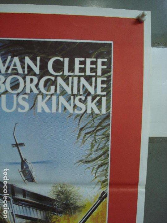 Cine: CDO 378 COMANDO PATOS SALVAJES KLAUS KINSKI LEE VAN CLEEF POSTER ORIGINAL 70X100 ESTRENO - Foto 4 - 195128936