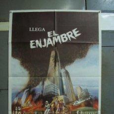 Cine: CDO 381 EL ENJAMBRE MICHAEL CAINE KATHERINE ROSS POSTER ORIGINAL 70X100 ESTRENO. Lote 195130751
