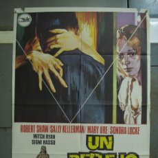 Cine: CDO 383 UN REFLEJO DE MIEDO ROBERT SHAW SONDRA LOCKE POSTER ORIGINAL 70X100 ESTRENO. Lote 195131690
