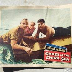 Cine: FOTOGRAMA GHOST ON THE CHINA SEA DAVID BRIAN. Lote 195132992