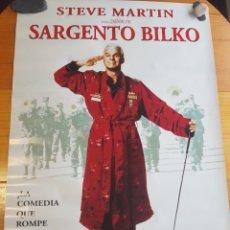 Cine: PÓSTER SARGENTO BILKO STEVE MARTIN 97'5 X 68 CM. Lote 195181896