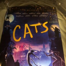 Cine: 2 POSTERS DIFERENTES MUSICAL CATS CINE 70X100CM. Lote 195183948