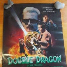 Cine: PÓSTER DOUBLE DRAGON 78'5 X 60 CM. Lote 195184597