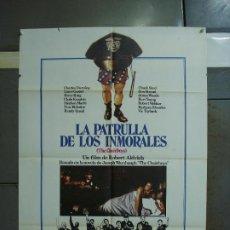 Cine: CDO 393 LA PATRULLA DE LOS INMORALES ROBERT ALDRICH POSTER ORIGINAL 70X100 ESTRENO. Lote 195199858