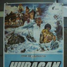 Cine: CDO 397 HURACAN MIA FARROW JASON ROBARDS MAX VON SYDOW POSTER ORIGINAL 70X100 ESTRENO. Lote 195205057