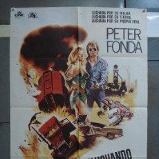 Cine: CDO 399 LUCHANDO POR MIS DERECHOS PETER FONDA JONATHAN DEMME POSTER ORIGINAL 70X100 ESTRENO. Lote 195209156