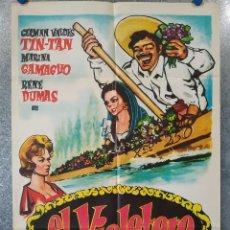 Cine: EL VIOLETERO. TIN TAN, MARINA CAMACHO, RENE DUMAS. AÑO 1962. POSTER ORIGINAL. Lote 195216420